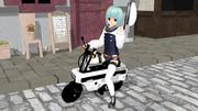 小さなバイク