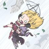傘で飛ぶわけ・・