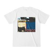 シンプルデザインTシャツ DISCOリス
