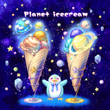 Planet icecream