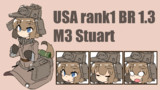 もふもふ擬人化 M3 Stuart