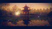 【MMDステージ配布あり】川の風は何度か秋を渡るver1.0