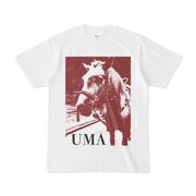 シンプルデザインTシャツ UMAちゃん
