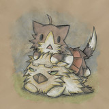 グー提督と酒匂猫