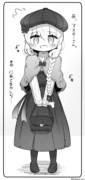 秋服コーデナーサリーちゃん