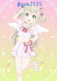 元気な天使っぽいアイドル
