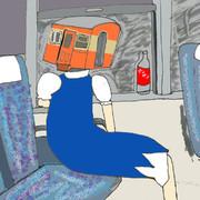 米原発快速浜松行きに乗るキハチルノ