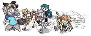 ◆けものフレンズRの漫画を描きました#01
