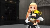【MMD】白ドレスのレア様2525再生おめでとう!