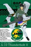 【兵器擬人化】A-10 第25戦闘飛行隊