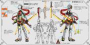 きらら「光化学迷彩 忍術特化型戦闘パワースーツ 試作機」