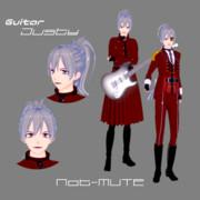 バーチャル ヴィジュアル系Not-MUTE ギター:Justy