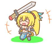 女騎士ミライアカリ