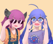 眼鏡×ウナきり