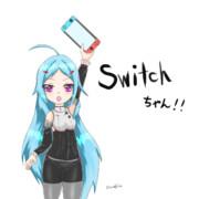 【擬人化】switchちゃん