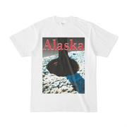 シンプルデザインTシャツ アラスカウッド
