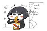 千夜「カップ麺うめぇ」