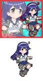 綾波型駆逐艦10番艦 潮・改二