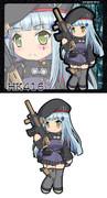 ドールズフロントライン HK416