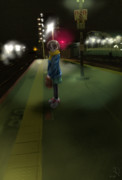 電車待ち丸山紗希