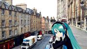 【ミクさんと】エジンバラ コックバーン通り【スコットランド】