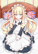【冬コミ】メイド服を着させられたクイーンエリザベス