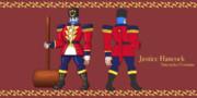ジャスティス ハンコック Nutcracker Costume