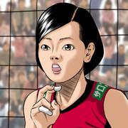 佐藤美弥さん描いてみた♪-W杯2019女子バレーボールワールドカップ