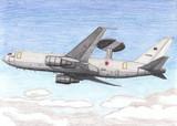 航空自衛隊 E-767早期警戒管制機