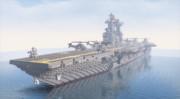 【Minecraft】LHD-1 月海級強襲揚陸艦1番艦 月海(つぐみ)