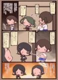 龍田がおデコちゃん