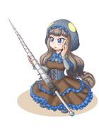 コモドドラゴンの侍女