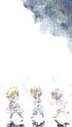 雪降る街の子供達