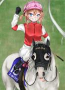 レパルス騎手とゴルシ(✌'ω'✌)