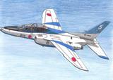 航空自衛隊 T-4中等練習機 ブルーインパルス