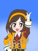 風紀委員のアイドル 冴島清美