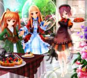 【今日のレア様】レア様達の お茶会…♪