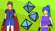 HOG (Hero, Octahedron, Girl)
