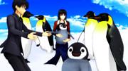 ペンギンふれあいにやってきた幹式【空の境界MMD】
