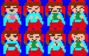 る!(クッキー☆)8つのイラストパック