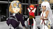 NY観光の聖女様たち