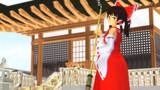 博麗神社の素敵な巫女さん