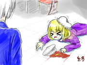 蓮子に内緒で高級レトルトカレーを食べようとするメリー