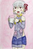 令呪によって濃厚なミルクを飲むことになったカーマ(KENZEN)