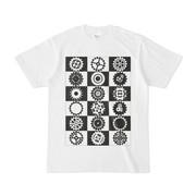 シンプルデザインTシャツ ギアでギアしてギアをする