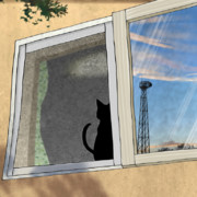 窓 猫 空 練習