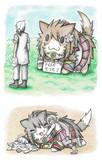 FREEモフモフ大和猫
