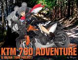KTM 790 ADVENTURE[2019]&ナズーリン(東方プロジェクト)