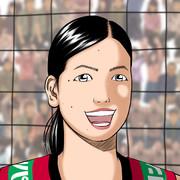 【女バレ】荒木絵里香 描いてみた♪W杯2019女子バレーボールワールドカップ