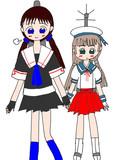 女装子提督と御蔵